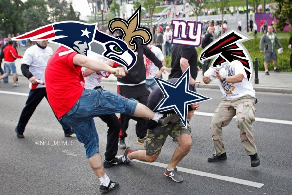 Beating up the Cowboys
