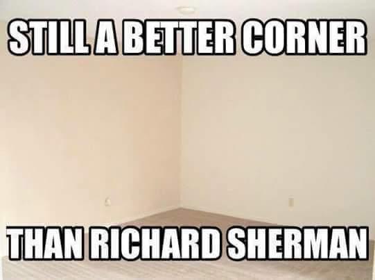 Better corner than Sherman