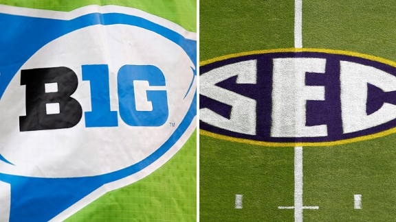 Big Ten vs SEC