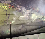 Chaos at the stadium