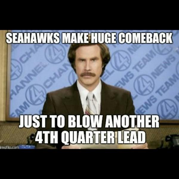 Choking Seahawks