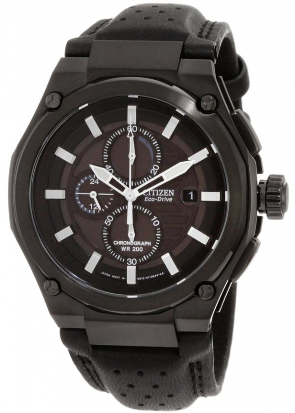 Citizen Men's CA0315-01E Sport Eco-Drive Chronograph Watch