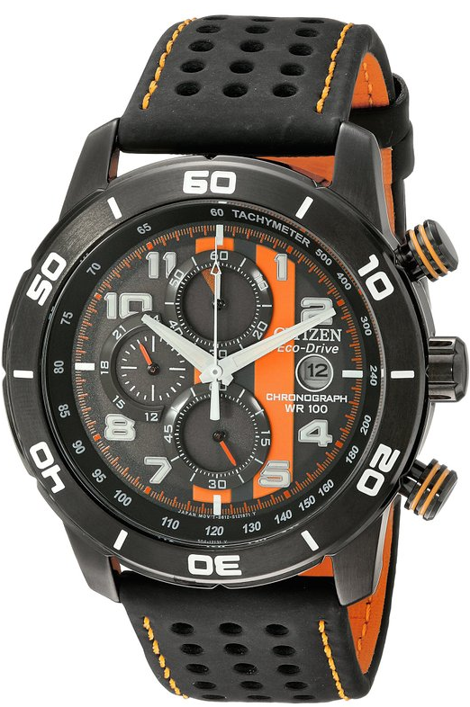 Citizen Men's CA0467-11H Eco-Drive Primo Chronograph Sport Watch