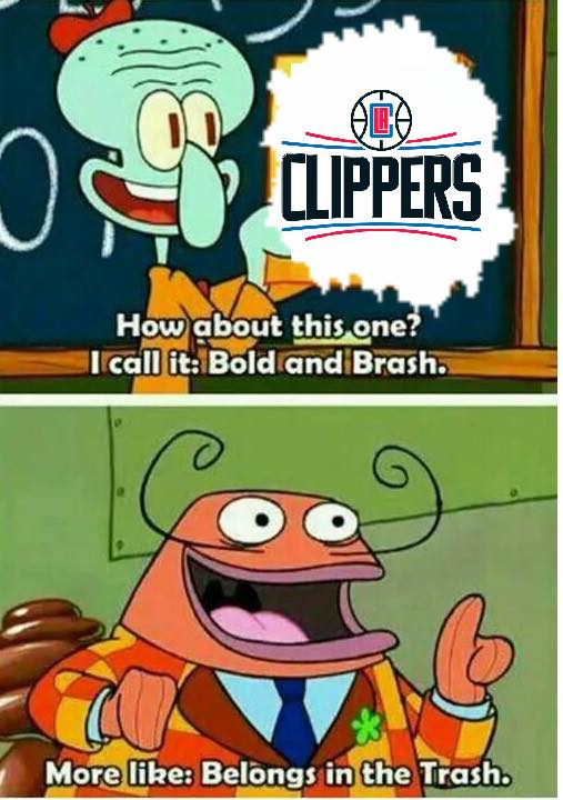 Clippers belong in the trash