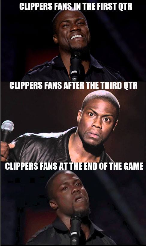 Clippers fan progress