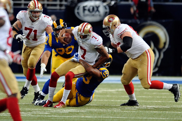 Colin Kaepernick sacked
