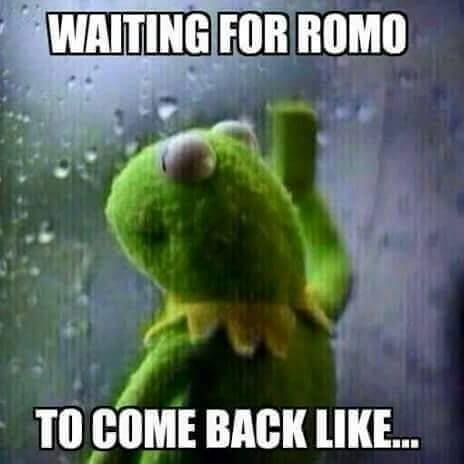Come back Romo
