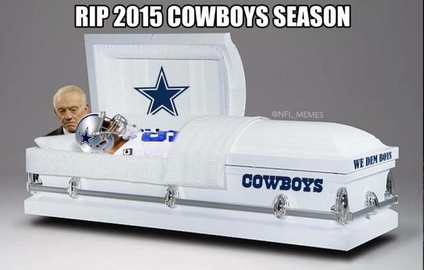 Cowboys season over