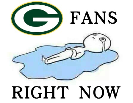 Crying Packers fans