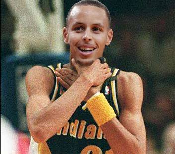 Curry Choking Them