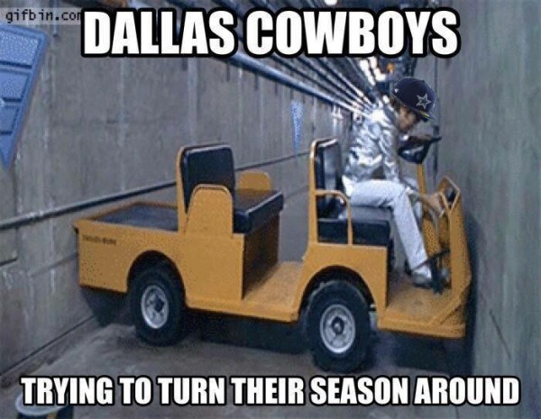 Dallas Cowboys Trying to turn their season
