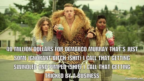DeMarco Murray money