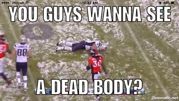 Dead body joke