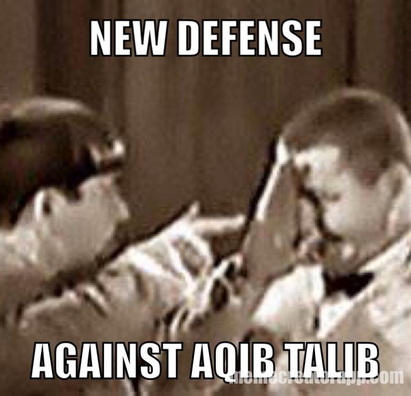 Defense vs Talib