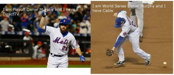 Direct TV vs Cable Daniel Murphy
