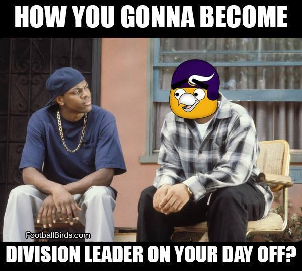 Division leader on your day off