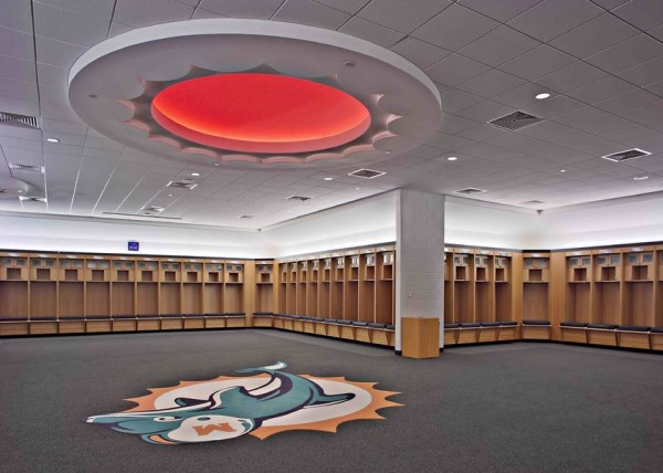 Dolphins Locker Room