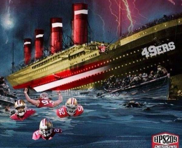 Drowning 49ersanic