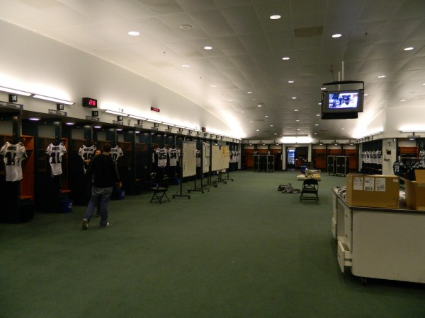 Eagles locker room