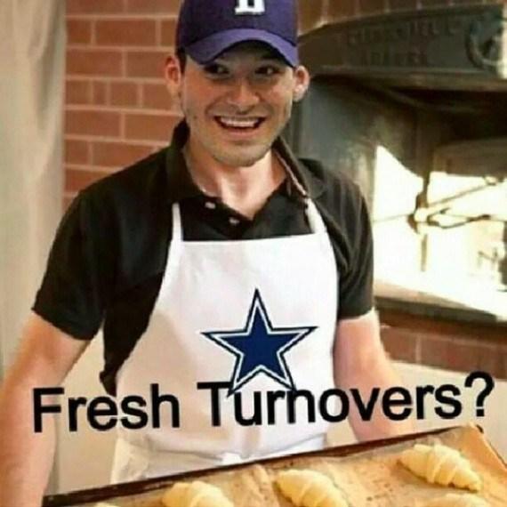 Fresh turnovers