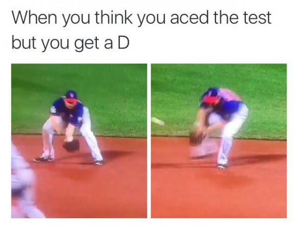 Getting a D