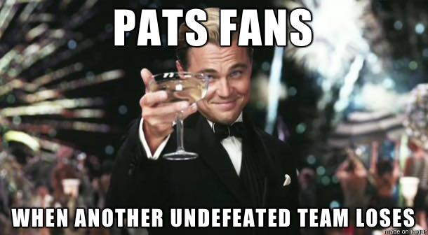 Happy Pats fans