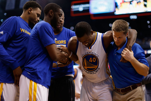 Golden State Warriors evaluating Harrison Barnes injury
