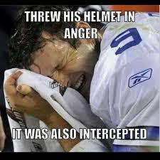 Helmet intercepted