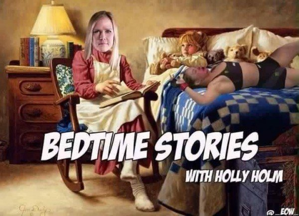 Holly Holm bedtime stories