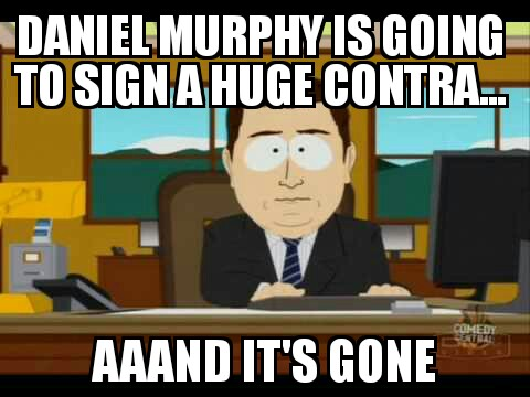 Huge contract gone