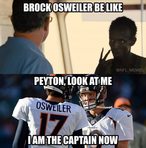 I am the captain now brock peyton