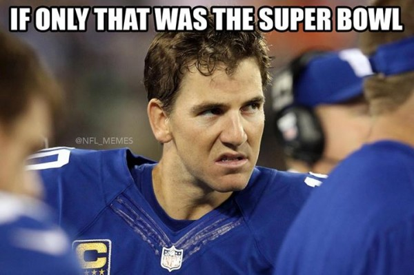 In the Super Bowl, we would have won