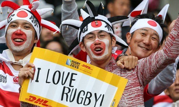 Japan Rugby Fans