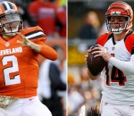 Johnny Manziel, Andy Dalton