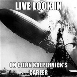 Kaepernick's career