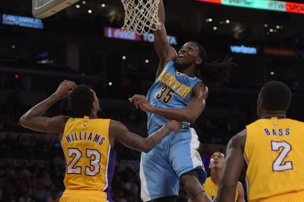 It's easy scoring against the Lakers