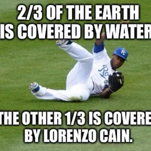 Lorenzo Cain coverage