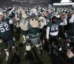 Michigan State Spartans celebrate