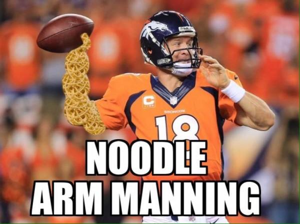 Noodle arm manning