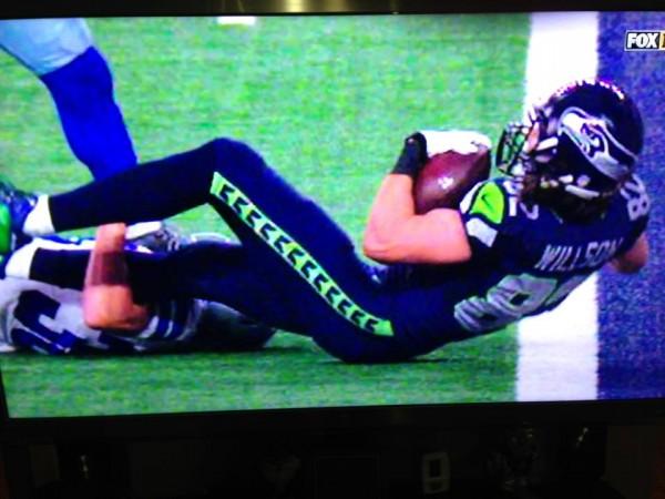 Not a touchdown