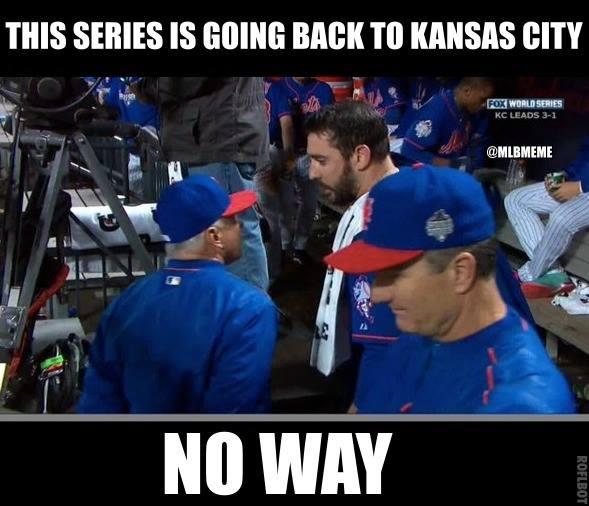 Not going back to Kansas City