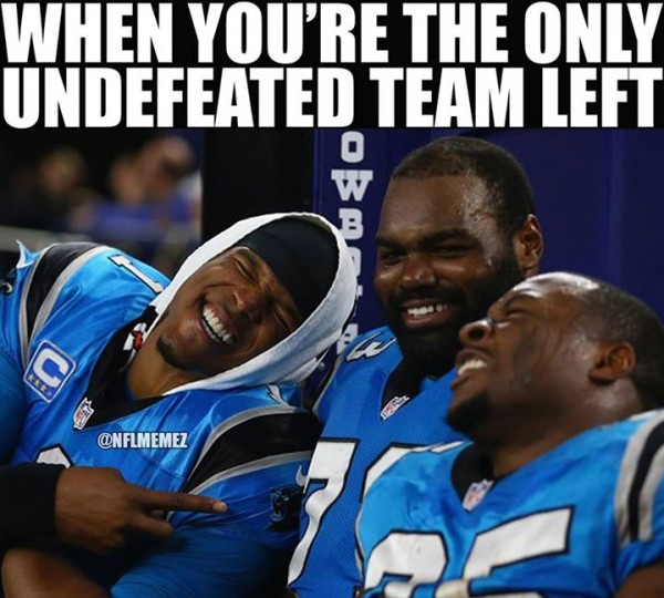 Only undefeated team left