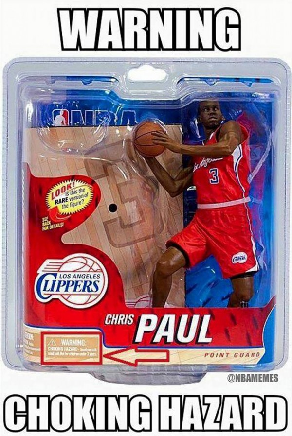 Paul Doll Choking Hazard