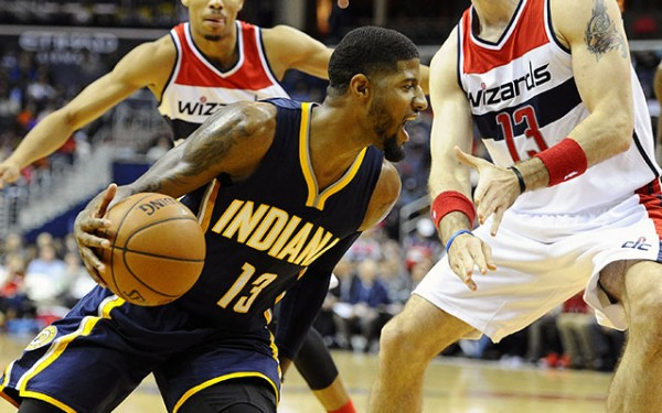 Paul George, Pacers, Wizards