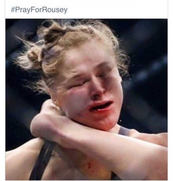Pray for Rousey