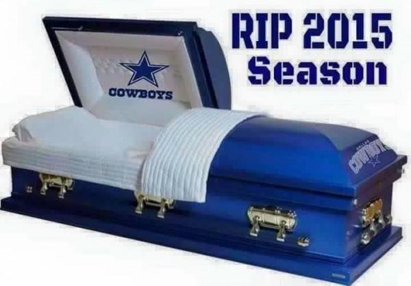 RIP Cowboys season