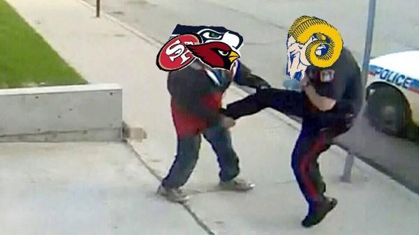 Rams kick Niners