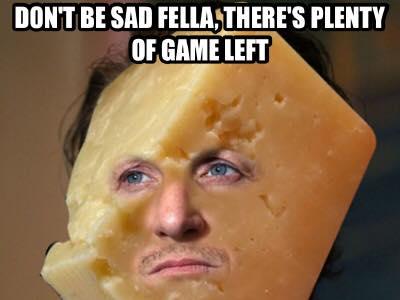 Sad cheesehead