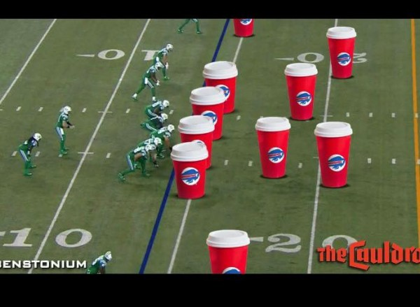 Starbucks Bills vs Jets