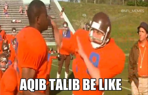 Talib be like